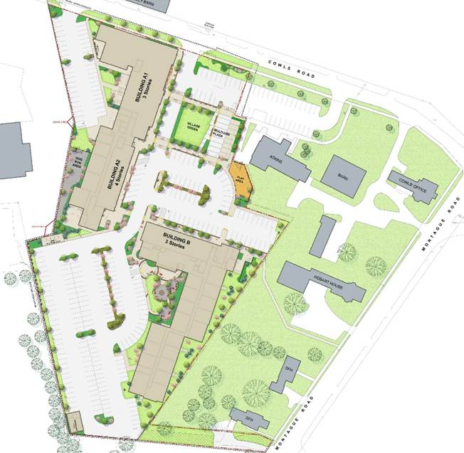 north square landscape plan