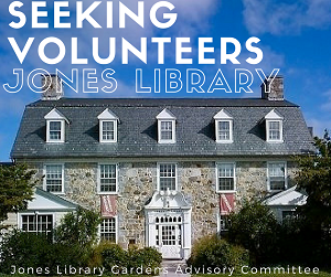 Jones Library Gardens Advisory Committee