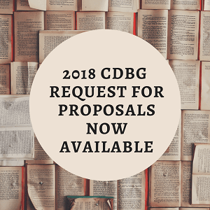 2018 CDBG Requests