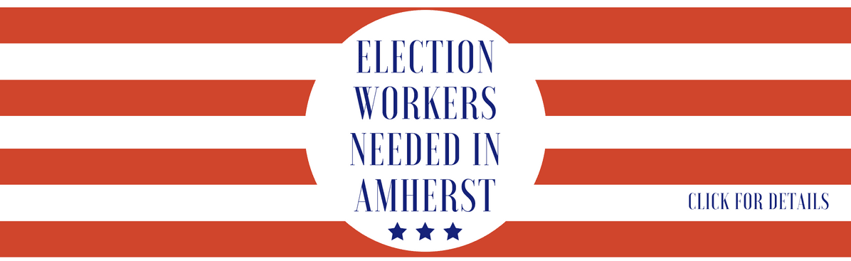 Election workers needed banner ad