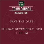 Save the Date Inaug News