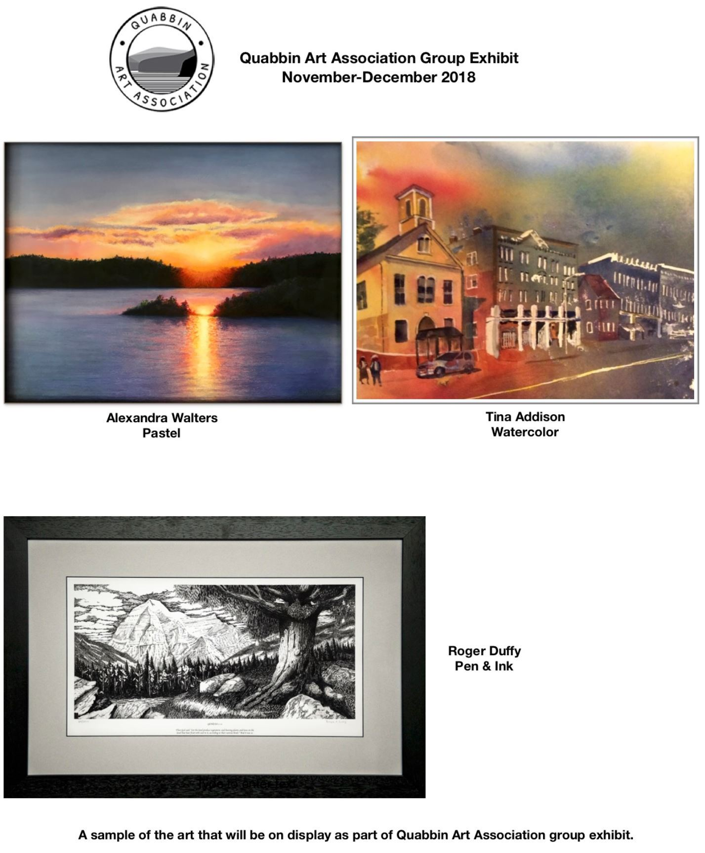Quabbin Group Exhibit Image