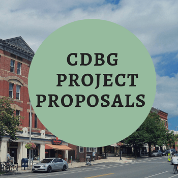 CDBG Proposals News Announcement