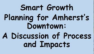 Smart growth Planning for Amherst Downtown Event