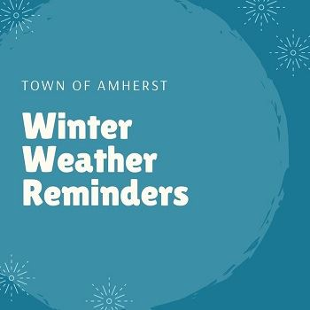 Winter Weather Reminder News