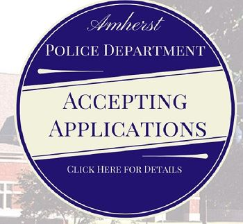 Amherst Police Department is Recruiting Patrol Officer
