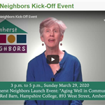 Amherst Neighbors KICK OFF EVENT
