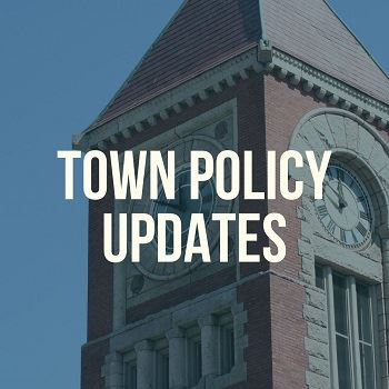 town policy updates - news