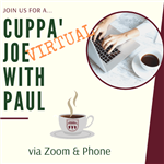Cuppa Joe Virtual Meeting Sign