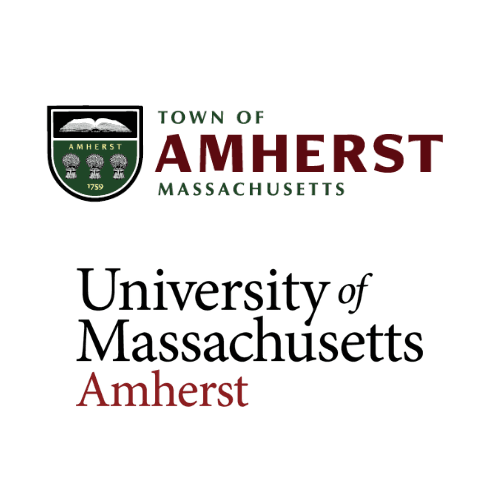 Town of Amherst and University of Massachusetts Amherst Logos