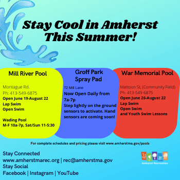 Stay cool in amherst news Opens in new window