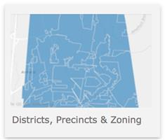 Districts, Precincts and Zoning